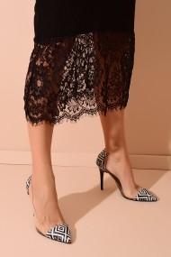 Pantofi cu toc ShoesTime 20Y 210 negru