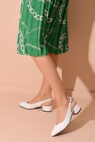Pantofi cu toc ShoesTime 20Y 214 alb