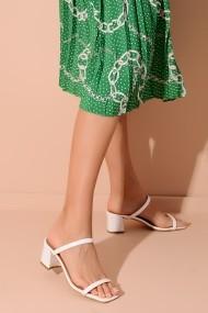 Sandale ShoesTime 20Y 801 alb