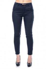 Pantaloni skinny slim fit Jolenttine bleumarin