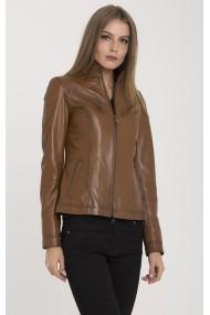 Jacheta din piele IPARELDE IPAW94 maro