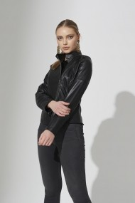 Jacheta din piele IPARELDE IPAW309 negru