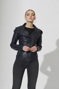 Jacheta din piele IPARELDE IPAW313 bleumarin