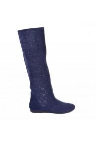 Cizme de vara perforate Donna Mia DM1611L albastru