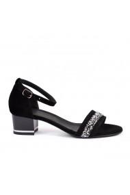 Sandale elegante Donna Mia DM1828 negru