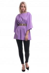 Bluza Tinka din bumbac lila