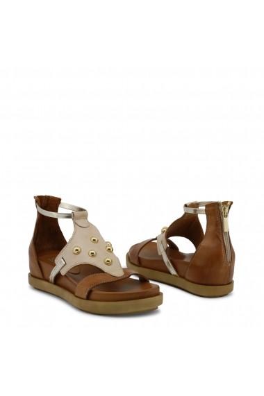 Sandale plate Ana Lublin ANDREIA BEIGE bej - els