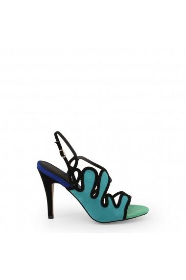 Sandale cu toc Arnaldo Toscani 1218025_VERDE-BLU
