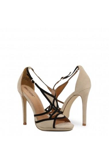 Sandale cu toc Arnaldo Toscani 1218013_BEIGE-NERO