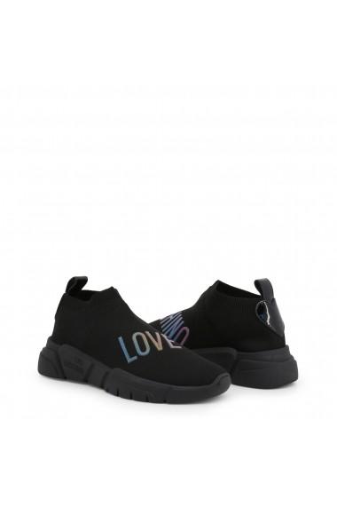 Pantofi sport JA15343G18IW_000A Love Moschino Negru