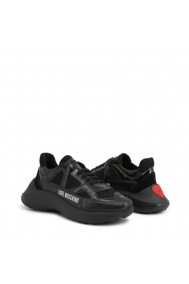 Pantofi sport JA15306G18IZ_300A Love Moschino Negru