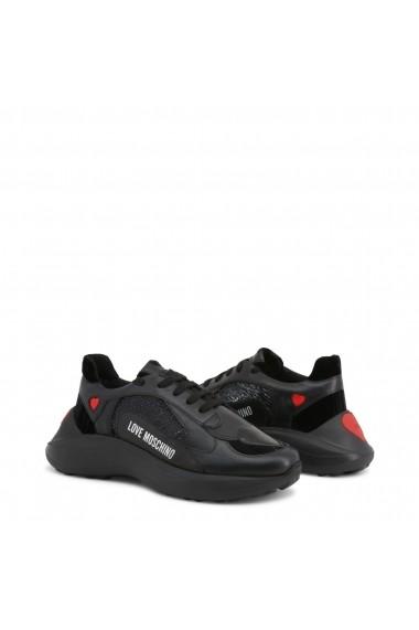 Pantofi sport JA15296G18IF_100A Love Moschino Negru