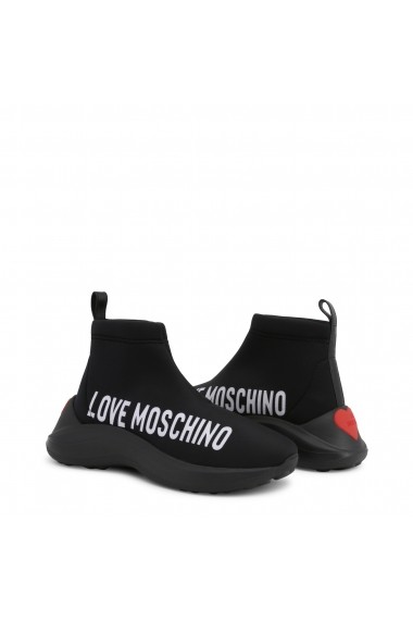 Pantofi sport JA15216G18IO_000A Love Moschino Negru