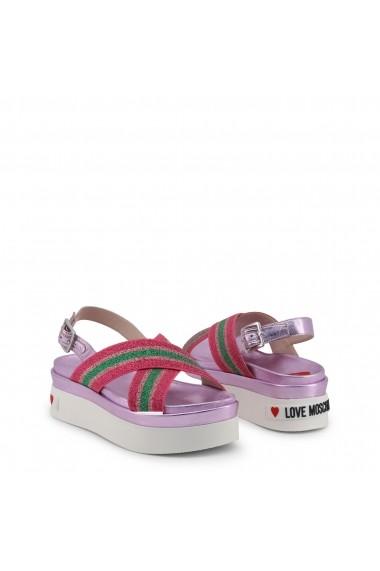Sandale cu toc Love Moschino JA16166G17IC_160A
