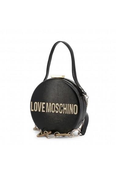 Geanta JC4038PP18LD_0000 Love Moschino Negru