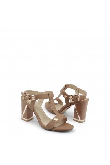 Sandale cu toc Laura Biagiotti 667_CALF_SAND bej - els