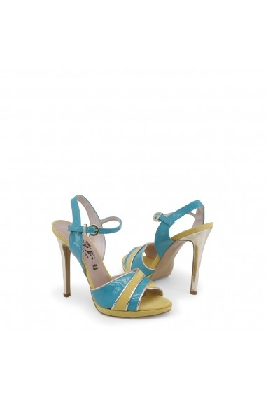 Sandale cu toc Paris Hilton 8605_VERDE-GIALLO-PLATINO Verde