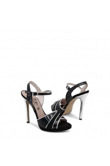 Sandale cu toc Paris Hilton 8605_NERO-ARGENTO Argintiu