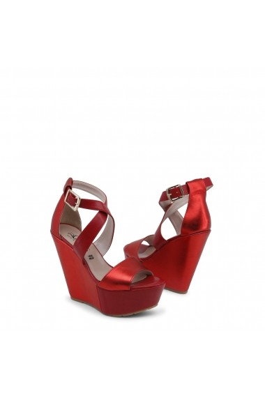 Sandale cu toc Paris Hilton 4000_ROSSO-PLATINO