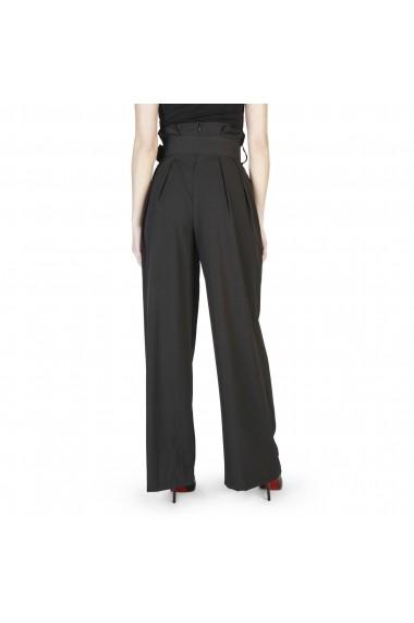 Pantaloni Miss Miss 39619_M001_Nero negru