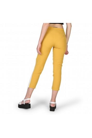 Pantaloni trei sferturi New Laviva IGINIA GIALLO Galben