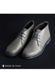 Pantofi Marco Nils 233_CRUST_GRIGIO