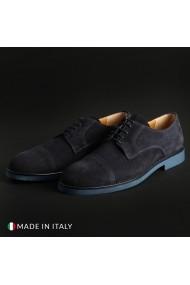 Pantofi Madrid 605_CAMOSCIO_BLU