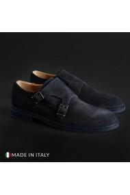Pantofi Madrid 600_CAMOSCIO_BLU