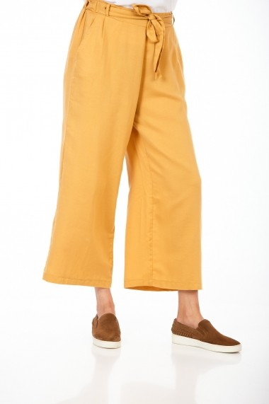 Pantaloni largi BE YOU 3322 Galbeni