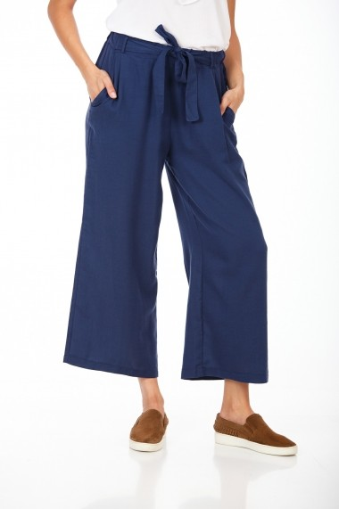 Pantaloni largi BE YOU 3322 Bleumarin