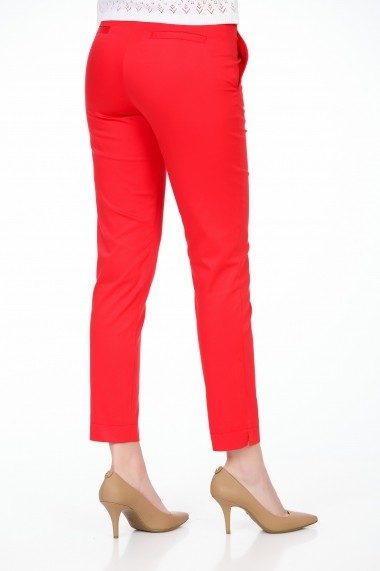 Pantaloni drepti Be You 3307 rosu