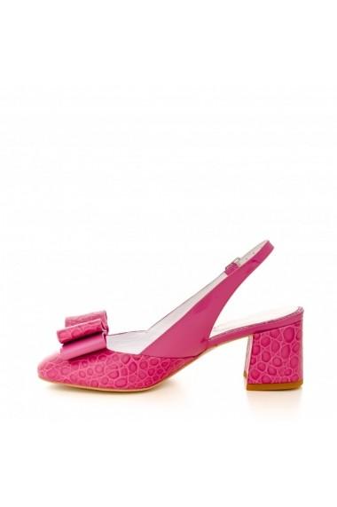 Pantofi cu toc CONDUR by alexandru 1607 fuchsia