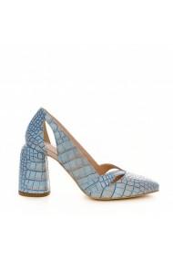 Pantofi cu toc CONDUR by alexandru 1809 blu
