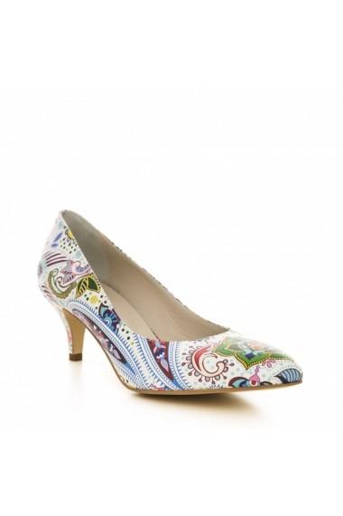 Pantofi cu toc CONDUR by alexandru 1200 multicolor