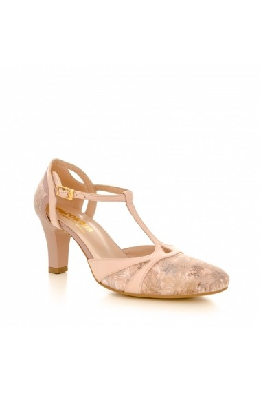 Pantofi cu toc CONDUR by alexandru p881 nude