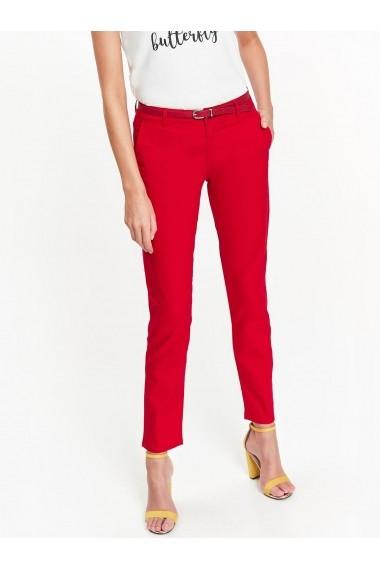 Pantaloni drepti Top Secret TOP-SSP2914RO Roz