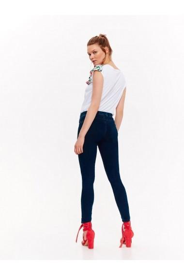 Pantaloni drepti Drywash TOP-DSP0179GR Bleumarin