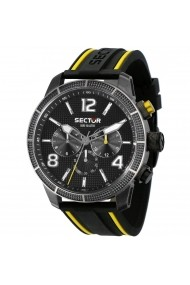 Ceas Sector R3251575014 Dual Time carcasa inox negru 45mm