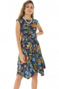 Rochie scurta Roh Boutique in culori tropicale - DR3892 multicolor