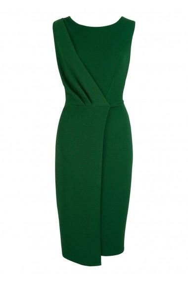 Rochie Roh Boutique Verde, Petrecuta intr-o forma Conica, ROH - DR3886 verde