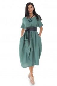 Rochie Roh Boutique chic oversize, din in - Kaki - Roh - DR4189 kaki