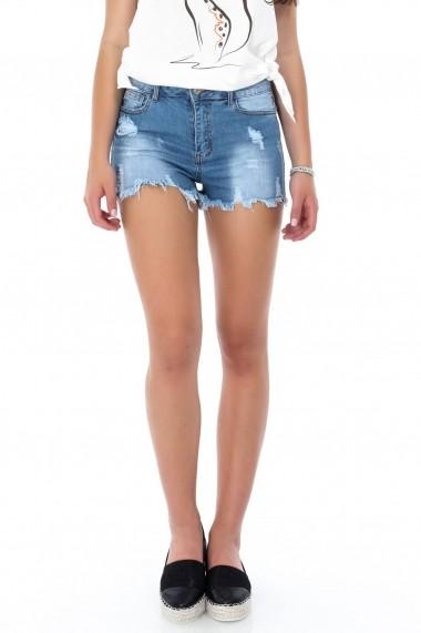 Pantaloni scurti Roh Boutique ROH-7355 - TR269 denim
