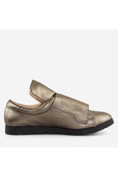 Pantofi din piele naturala bronz Magnolia Dianemarie   P158 bz