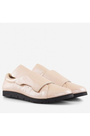 Pantofi din piele naturala roz Florida Dianemarie   P158 rz