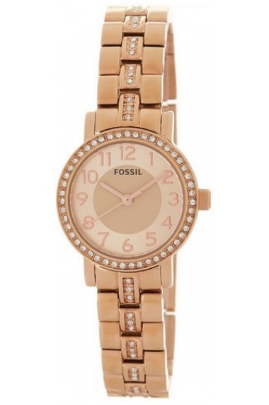 Ceas FOSSIL WATCH Mod. BQ1430 Lady Rose Gold Tone Bracelet with strass 5ATM