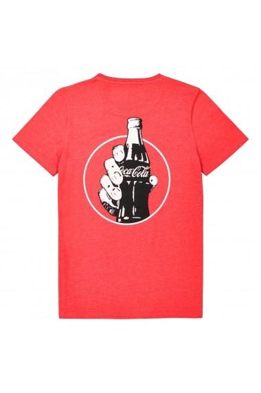 Tricou Coca Cola GEO127 rosu