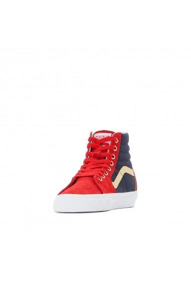 Pantofi sport VANS GFL422-red-navy Rosu