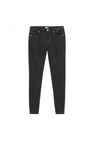 Pantaloni BENETTON GGD604 negru