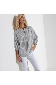 Bluza ANNE WEYBURN GEQ389-blue_striped Albastru