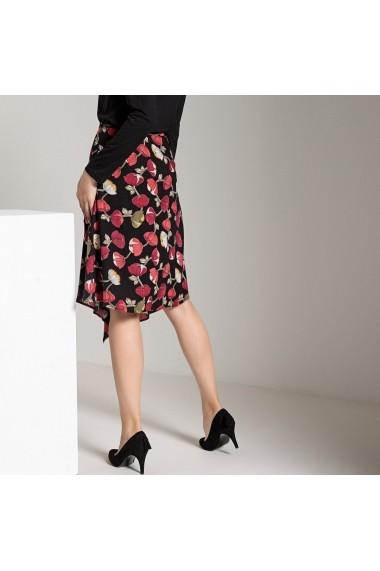 Fusta ANNE WEYBURN GET854-floral_print-black Multicolor